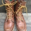 LL Bean sports hunting boot หนังนิ่ม บุกันน้ำ พื้น Vibram เบาใส่สบายมากครับ เหมาะกับหน้าฝนยิ่งนัก size 7C