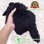 ตุ๊กตา แมวขนเปียก Lying Cat สีดำ 12 นิ้ว [Anee Park] thumbnail 3