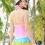 ชุดว่ายน้ำสีสดใส พร้อมส่ง one size thumbnail 3
