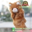 ตุ๊กตาหุ่นมือ แมว สีเหลืองเข้ม thumbnail 1