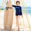 ชุดว่ายน้ำแขนยาวกัน UV ทูพีช ไซส์ M L thumbnail 1