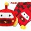 Baby Touch เซ็ตหมวกผ้าพันคอ พรีเมี่ยม รุ่นหมีเท็ด (Hat - SFA) thumbnail 3