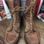 Vintage 1970 Sears Work Boots Moccasin made in USA size size 11D