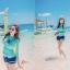 ชุดว่ายน้ำแขนยาวทูพีช พร้อมส่ง ไซส์ M L XL thumbnail 3