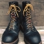 12.Vintage Redwing 2218 logger boot size 9