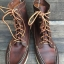 RED WING Redwing boots 9125 boat MOC boots copper rough size 7E