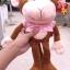 ตุ๊กตาลิงขายาว ใส่เสื้อสีชมพูลายจุด 15 นิ้ว [Anee Park] thumbnail 2