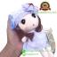 ตุ๊กตาเด็กผู้หญิงห้อยกระเป๋า ชุดสีฟ้า 20 CM thumbnail 2
