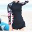 ชุดว่ายน้ำแขนยาวกัน UV ทูพีช (XL) thumbnail 3