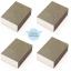 Home Decorate ฟองน้ำขัดคราบดำ ใช้ขัดหม้อ อลูมิเนียม โลหะชุบโครเมียม สีน้ำตาล (4 ก้อน) thumbnail 1