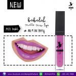 Babalah Matte Me Lip No.9 สี Ink Berry