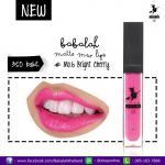 Babalah Matte Me Lip No.6 สี Bright Cherry