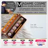 Ver.88 Glam Shine Cream Eyeshadow Palette อายแชโดว์เนื้อครีม แต่งแต้มดวงตาให้โดดเด่น มีประกาย