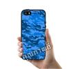เคส iPhone 5 5s SE Blue Camo เคสสวย เคสโทรศัพท์ #1361