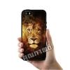 เคส iPhone 5 5s SE สิงโต ศิลปะ เคสสวย เคสโทรศัพท์ #1332