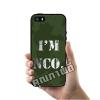 เคส iPhone 5 5s SE เคสทหาร I'm NCO เคสสวย เคสโทรศัพท์ #1337