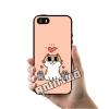 เคส ซัมซุง iPhone 5 5s SE แมว 3 ตัว หัวใจ เคสน่ารักๆ เคสโทรศัพท์ เคสมือถือ #1182