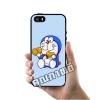 เคส ซัมซุง iPhone 5 5s SE โดเรม่อน กิน แป้งทอด เคสน่ารักๆ เคสโทรศัพท์ เคสมือถือ #1018