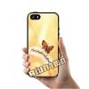 เคส iPhone 5 5s SE ผีเสื้อสวยแสงทอง เคสสวย เคสโทรศัพท์ #1141