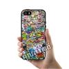 เคส ซัมซุง iPhone 5 5s SE โลโก้ สติ๊กเกอร์รวม เคสสวย เคสมือถือ #1008