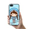 เคส ซัมซุง iPhone 5 5s SE เด็กผู้หญิง หมวก โดเรม่อน เคสน่ารักๆ เคสโทรศัพท์ เคสมือถือ #1015