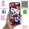 เคส ViVo Y53 ยางซิลิโคน ภาพอาร์ท แมว เคสสวย เคสโทรศัพท์ #1133