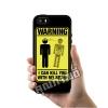 เคส iPhone 5 5s SE ระวังความฉลาดของฉันฆ่าคุณ เคสสวย เคสโทรศัพท์ #1197