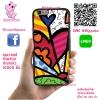 เคส ViVo Y53 ยางซิลิโคน ภาพอาร์ท หัวใจ เคสสวย เคสโทรศัพท์ #1134