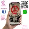 เคส ViVo Y53 ยางซิลิโคน โลโก้ ภาพสตรีทอาร์ท ทหารสันติภาพ เคสสวย เคสโทรศัพท์ #1123