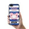 เคส ซัมซุง iPhone 5 5s SE หมี Chocco Teddy น้ำเงิน เคสน่ารักๆ เคสโทรศัพท์ เคสมือถือ #1113