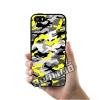 เคส iPhone 5 5s SE ลายพรางทหาร เหลือง ขาว ดำ เคสสวย เคสโทรศัพท์ #1371
