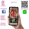 เคส Oppo A37 โลโก้ ภาพสตรีทอาร์ท ทหารสันติภาพ เคสสวย เคสโทรศัพท์ #1123