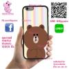 เคส Vivo V5 / V5s / V5 lite หมีบราวน์ พาสเทล เคสน่ารักๆ เคสโทรศัพท์ เคสมือถือ #1196
