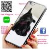 เคส ไอโฟน 6 / เคส ไอโฟน 6s ปั๊กดำ น่ารัก เคสสวย เคสโทรศัพท์ #1163