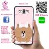 เคส ซัมซุง J5 2016 หมีบราวน์ ผูกโบว์ เคสน่ารักๆ เคสโทรศัพท์ เคสมือถือ #1191