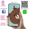 เคส ซัมซุง A5 2016 หมีบราวน์ เกาะขอบ เคสน่ารักๆ เคสโทรศัพท์ เคสมือถือ #1192