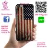 เคส ViVo Y53 ยางซิลิโคน ธงอเมริกา วินเทจ เคสสวย เคสโทรศัพท์ #1178