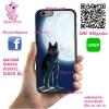 เคส OPPO A71 โลโก้ หมาป่าดวงจันทร์ เคสสวย เคสโทรศัพท์ #1129