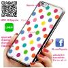 เคส ไอโฟน 6 / เคส ไอโฟน 6s โลโก้ ลายจุด เคสสวย เคสโทรศัพท์ #1114