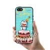เคส ซัมซุง iPhone 5 5s SE โดเรม่อน เค้ก เคสน่ารักๆ เคสโทรศัพท์ เคสมือถือ #1027