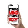 เคส ซัมซุง iPhone 5 5s SE โลโก้ Strong Mind Strong Body เคสสวย เคสโทรศัพท์ #1052