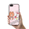เคส ซัมซุง iPhone 5 5s SE บราวน์กินนม โคนี่ กินแอ๊ปเปิ้ล เคสน่ารักๆ เคสโทรศัพท์ เคสมือถือ #1180