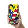 เคส iPhone 5 5s SE ภาพอาร์ท หัวใจ US เคสสวย เคสโทรศัพท์ #1135