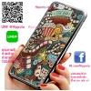 เคส ไอโฟน 6 / เคส ไอโฟน 6s โลโก้ หนัง ป๊อปคอร์น เคสสวย เคสมือถือ #1005