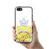 เคส ซัมซุง iPhone 5 5s SE สปองบ๊อบ queen เคสน่ารักๆ เคสโทรศัพท์ เคสมือถือ #1063