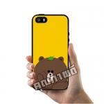 เคส ซัมซุง iPhone 5 5s SE หมีบราวน์ เคสน่ารักๆ เคสโทรศัพท์ เคสมือถือ #1057