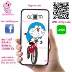 เคส ซัมซุง A5 2015 โดเรม่อน ขี่จักรยาน เคสน่ารักๆ เคสโทรศัพท์ เคสมือถือ #1090