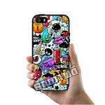 เคส ซัมซุง iPhone 5 5s SE โลโก้ ฮาโลวีน ป๊อปอาร์ท เคสสวย เคสโทรศัพท์ #1020