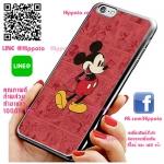 เคส ไอโฟน 6 / เคส ไอโฟน 6s มิกกี้เมาส์ พื้นแดง เคสน่ารักๆ เคสโทรศัพท์ เคสมือถือ #1029