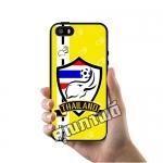 เคส ซัมซุง iPhone 5 5s SE เคส ทีมฟุตไทย ช้างศึก โลโก้ พื้นเหลือง เคสฟุตบอล เคสมือถือ #1022